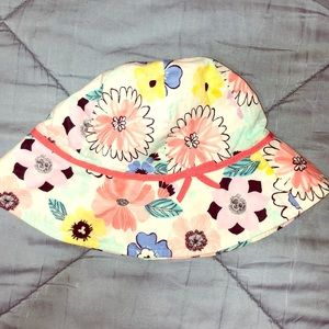 Brand new multicolor floral hat